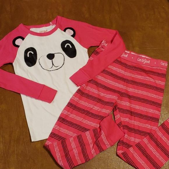 COPY - NWOT Cat & Jack size 8 Panda Pajamas